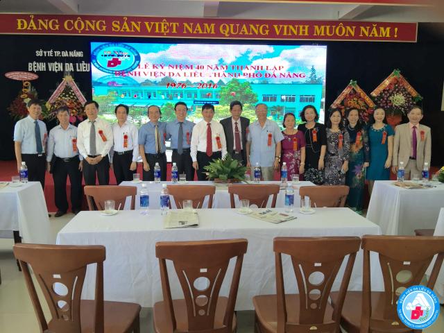 Bệnh viện Da liễu Thành phố Đà Nẵng kỷ niệm  40 năm  ngày thành lập