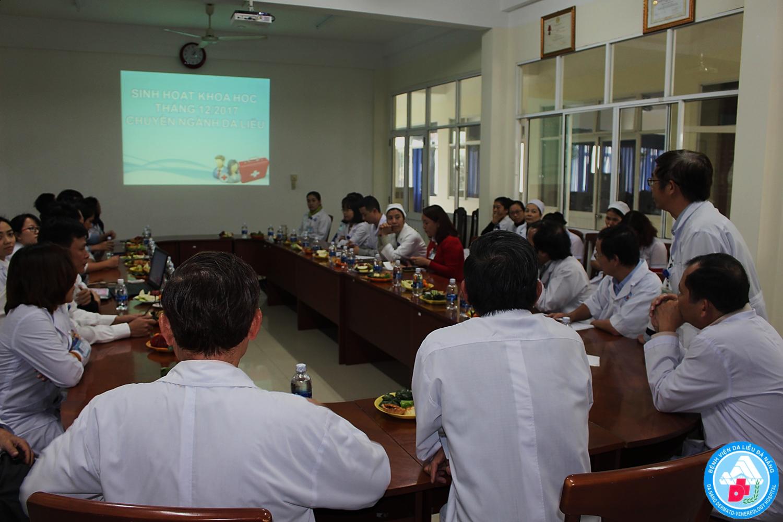 Tổ chức thành công Chương trình Sinh hoạt khoa học tháng 12 Chuyên ngành Da liễu tại Bệnh viện Da liễu Đà Nẵng